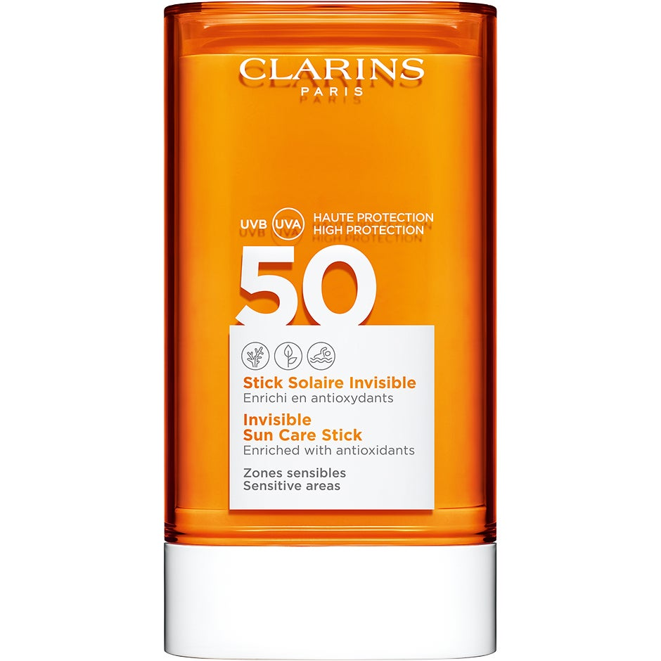 Invisible Sun Care Stick Spf 50 17 gr Clarins Solskydd Ansikte