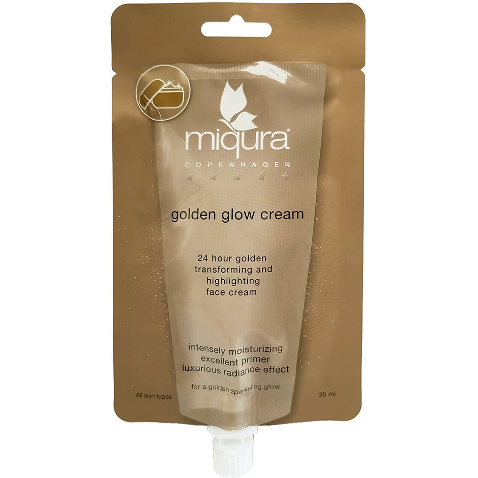 Day Cream Moist Transforming Gold Cream 25 ml Miqura Dagkräm