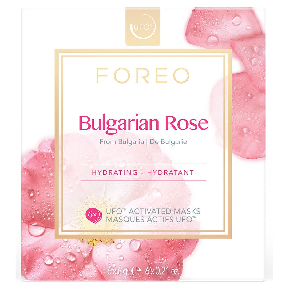UFO Mask Bulgarian Rose Foreo Sheet Masks