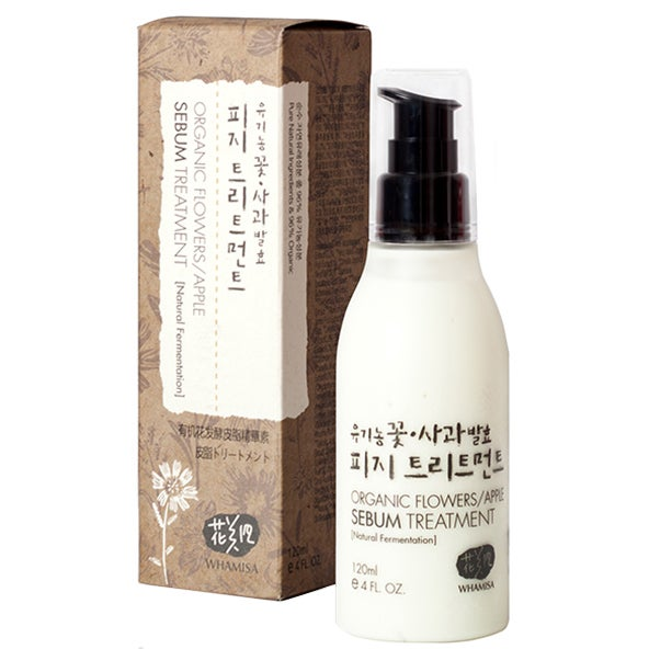 Whamisa Organic Flowers Sebum Treatment 120 ml Whamisa Skincare K-Beauty