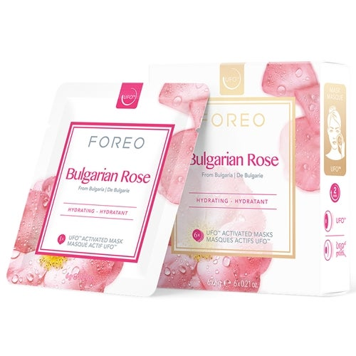 Foreo UFO Mask Natural Collection Bulgarian Rose