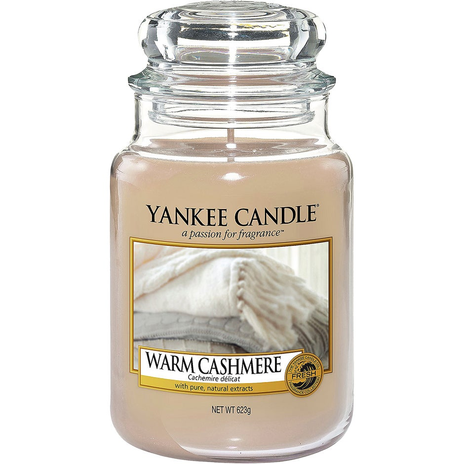 Yankee Candle Classic Large Jar Warm Cashmere 623g