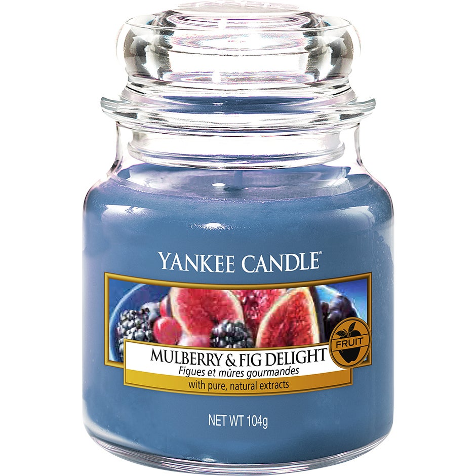 Mulberry & Fig Delight 104 g Yankee Candle Doftljus