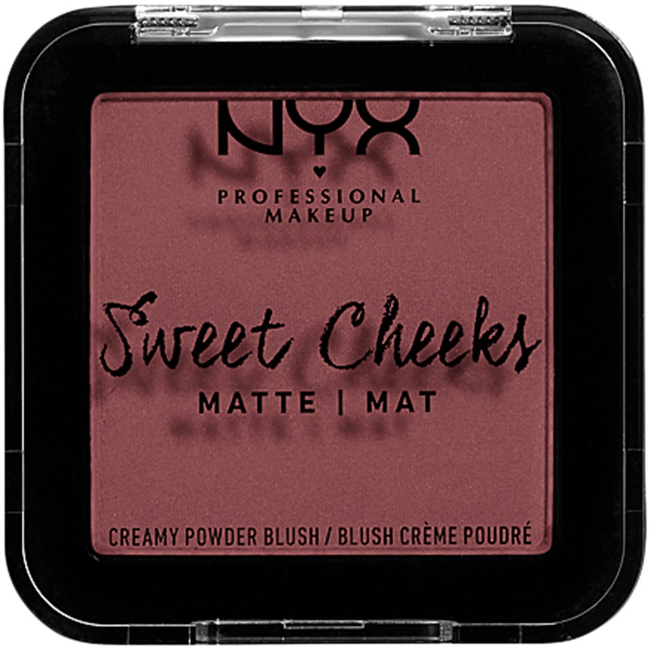 Sweet Cheeks Creamy Powder Blush Matte NYX Professional Makeup Rouge