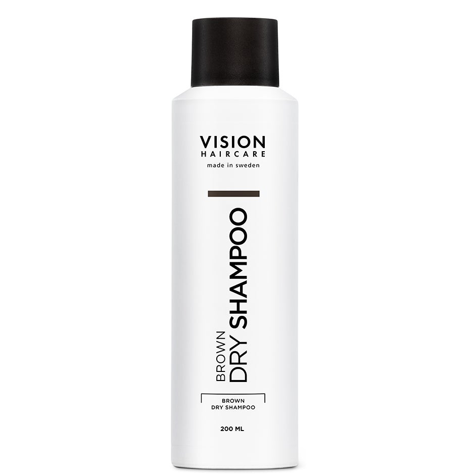 Vision Brown Dry Shampoo 200 ml Vision Haircare Torrschampo