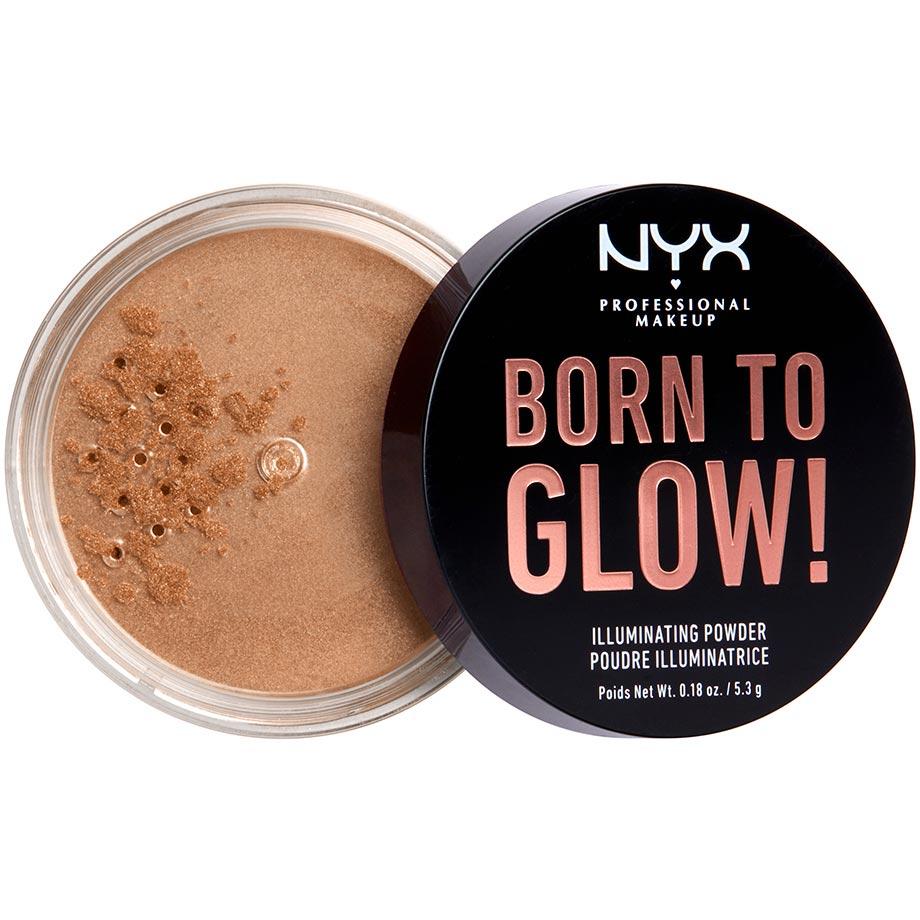 Born To Glow Illuminating Powder NYX Professional Makeup Highlighter