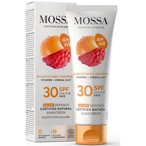 MOSSA 365 Days Defence Certified Natural Sunscreen