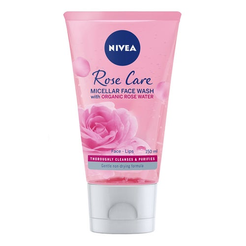 Nivea Rose Care Micellar Organic Rose Water Wash Gel