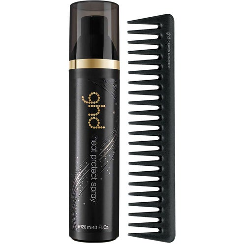 ghd ghd Style Heat Protect Spray & Detangling Comb