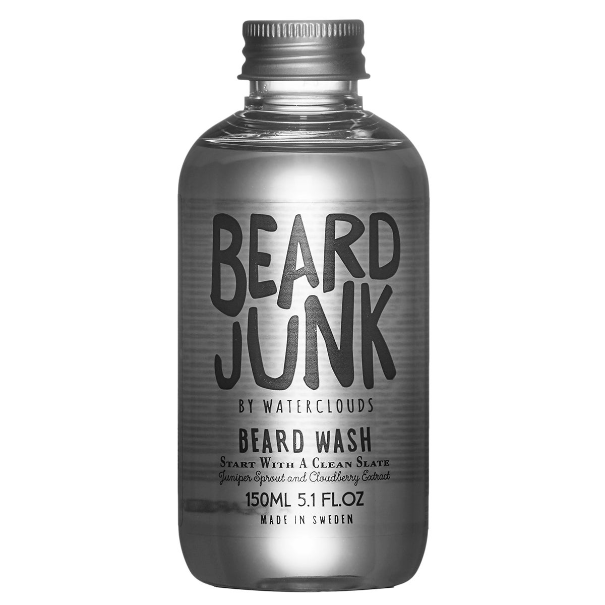Beard Junk Beard Wash,  150 ml Beard Junk by Waterclouds Skägg  Mustasch