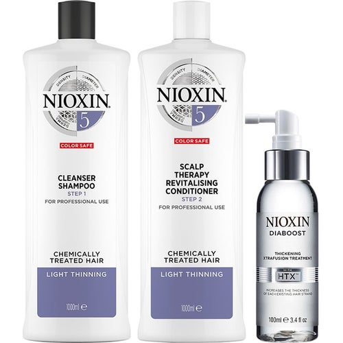 Nioxin System 5 Trio For Chemically Treated Hair