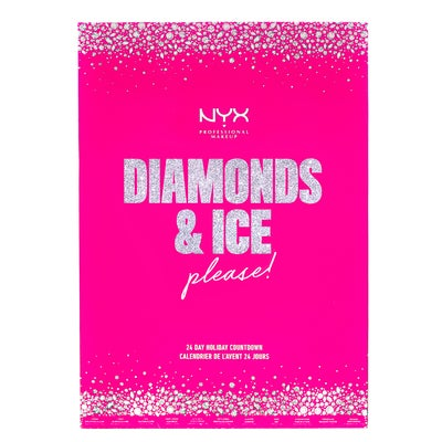 NYX Professional Makeup Diamonds & Ice Please! Holiday Countdown Calendar