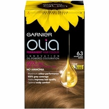 Garnier Olia Permanent Hair Colour, 6.3 Golden Light Brown