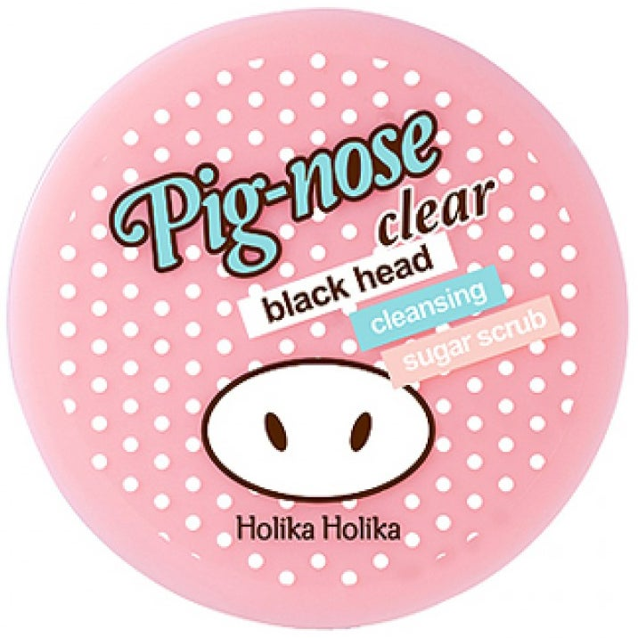 Pig Nose Clear Blackhead Cleansing Sugar Scrub 25 g Holika Holika K-Beauty