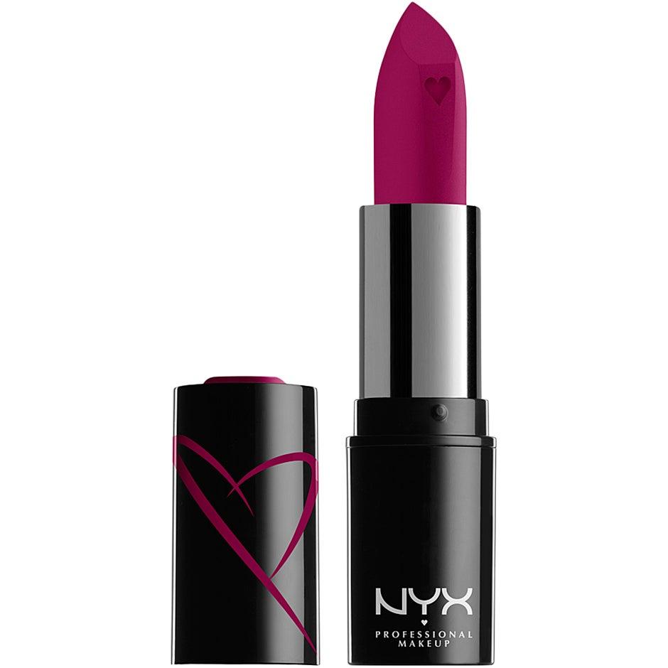 Shout Liquid Satin Lipstick NYX Professional Makeup Läppstift