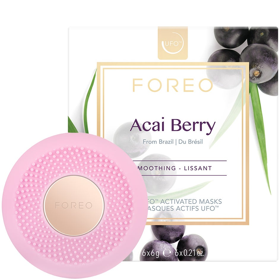 UFO Mini Pearl Pink & Acai Berry Mask Foreo Ansiktsvårdstillbehör