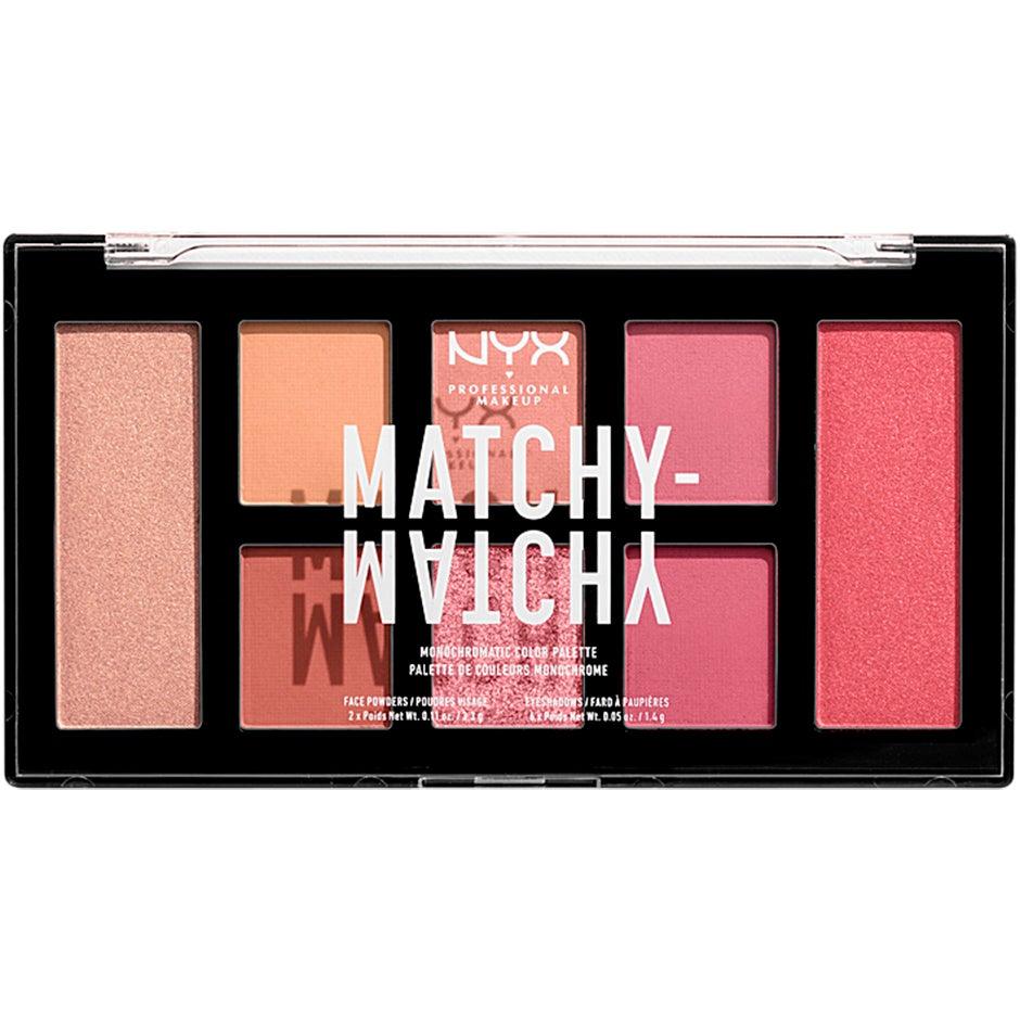 Matchy Matchy Monochromatic Color Palette NYX Professional Makeup Ögonpaletter
