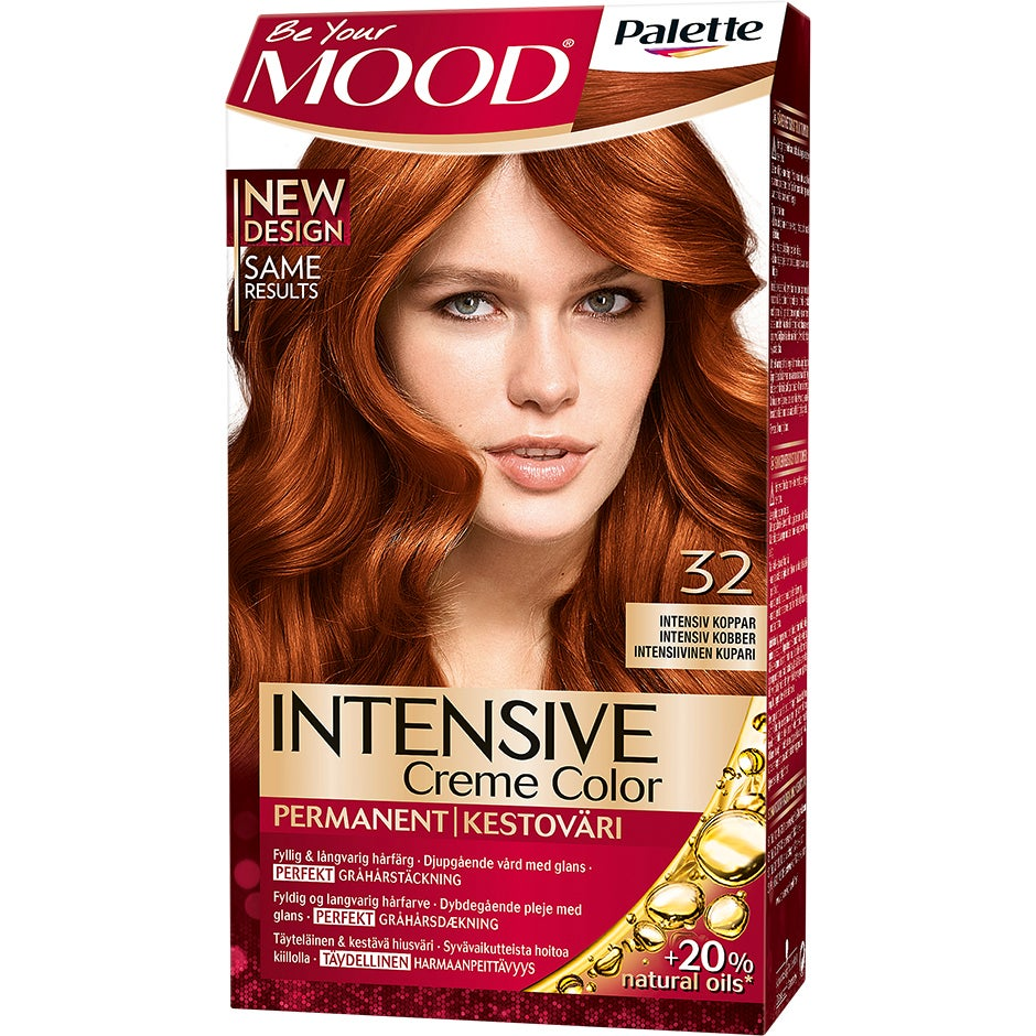 Mood Haircolor 32 Intensiv Koppar MOOD Röd hårfärg