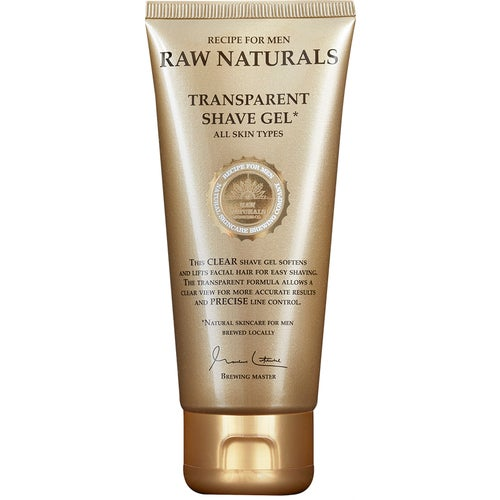 Raw Naturals by Recipe for Men Transparent Shaving Gel