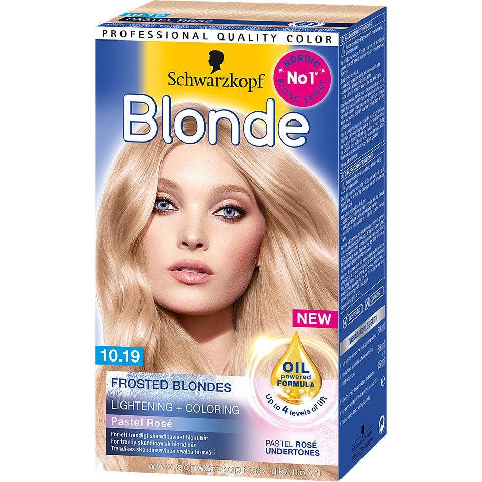 Schwarzkopf Frosted Blonde 10.19 Frosted Pastel 143 ml Schwarzkopf Blond hårfärg