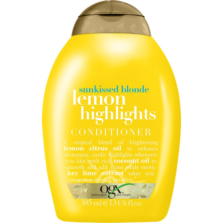 Ogx Sunkissed Blonde Lemon Highlights Conditioner 385 ml OGX Balsam