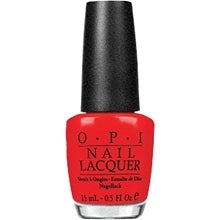 OPI Nail Lacquer, Red My Fortune Cookie