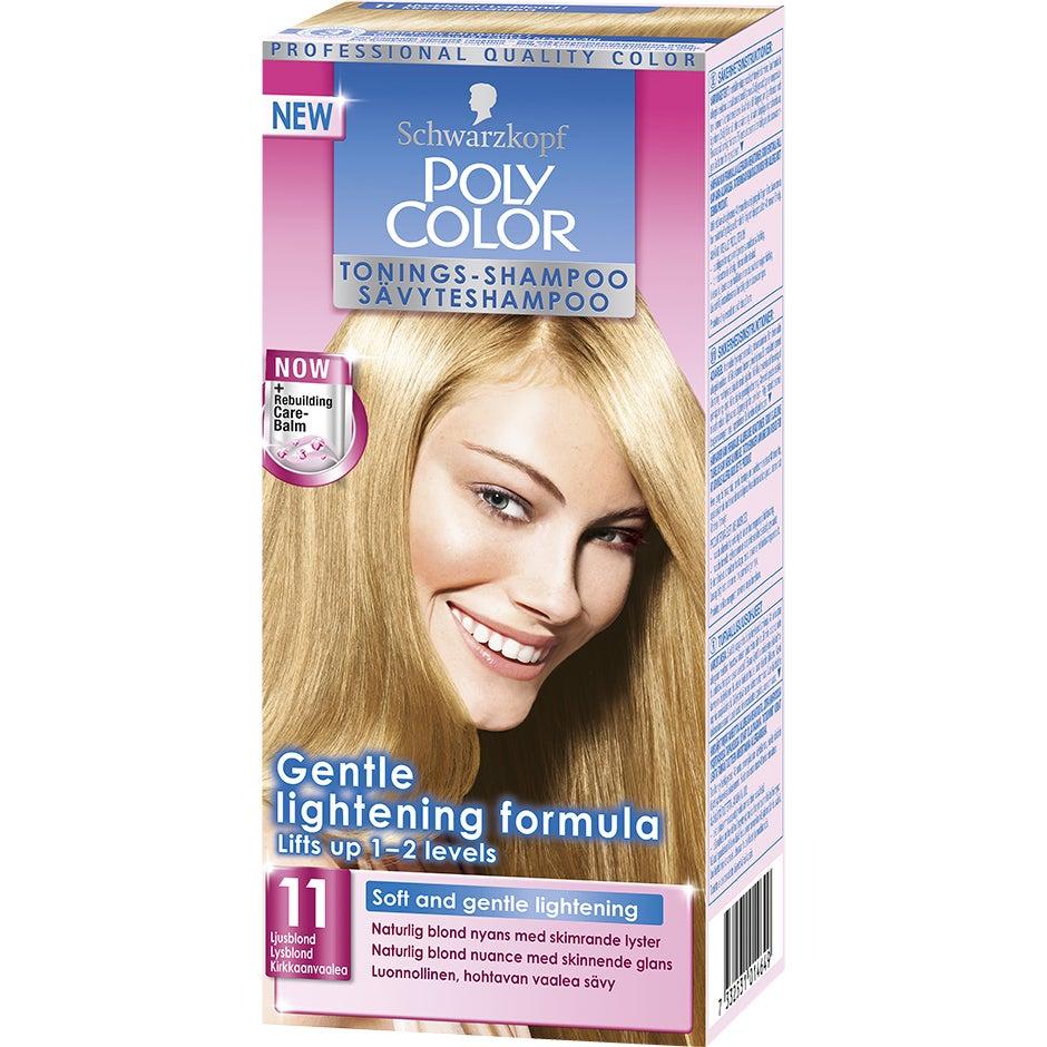 Schwarzkopf Poly Color Tonings-Shampoo 11 – Ljusblond Schwarzkopf Hårfärg