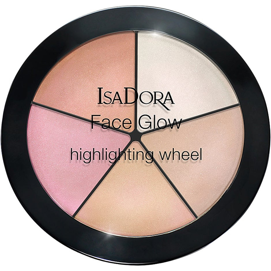 IsaDora Face Glow Highlighting Wheel 18 g IsaDora Highlighter