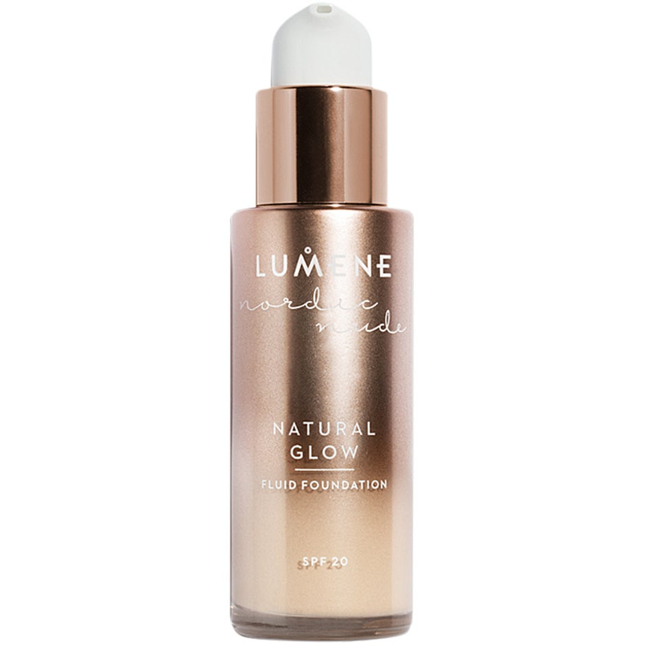 Lumene Nordic Nude Natural Glow Fluid Foundation SPF 20, 02 Ivory 30 ml Lumene Foundation