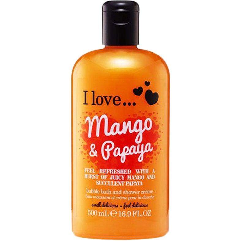 I Love… Mango & Papaya Bath & Shower Crème 500 ml I love… Skumbad