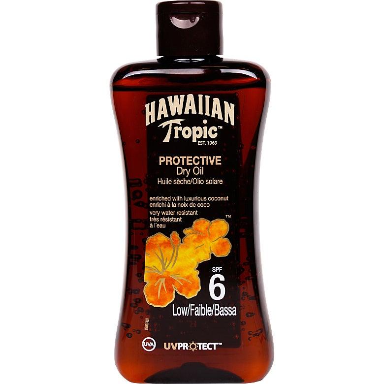 Hawaiian Tropic Protective Dry Oil SPF 6 200 ml Hawaiian Tropic Solkräm
