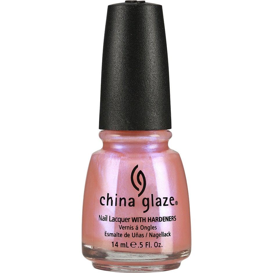 China Glaze Nail Lacquer Afterglow 14 ml China Glaze Rosa & Röd