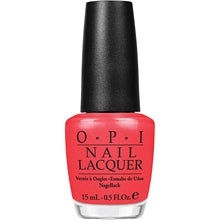 OPI Nail Lacquer, I Eat Mainley Lobster