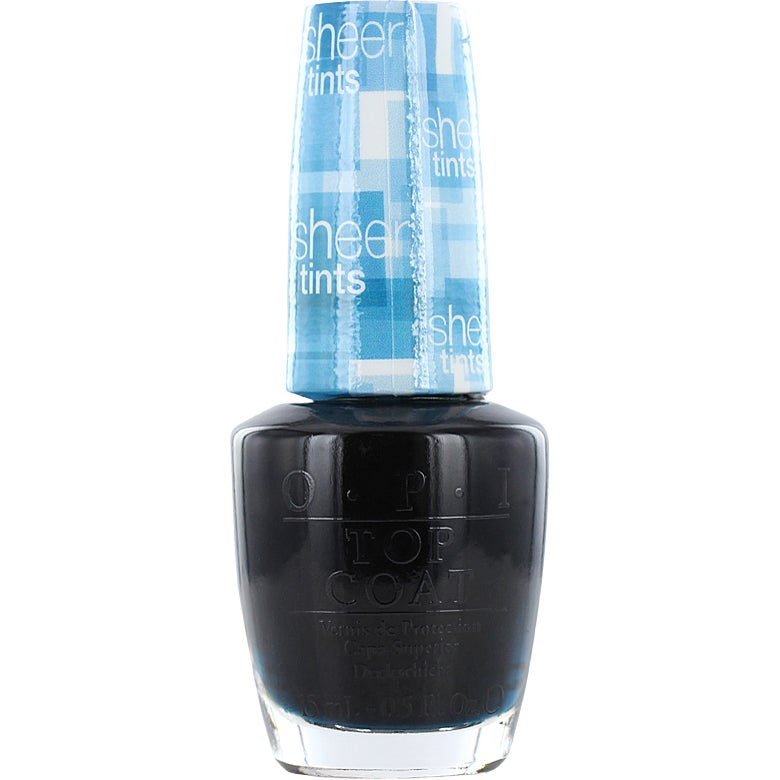 OPI Nail Lacquer Sheer Tints, I Can Teal You Like Me