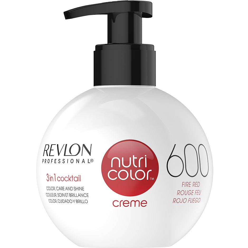 Revlon Professional Nutri Color Creme 600 Fire Red 270 ml Revlon Professional Hårinpackning