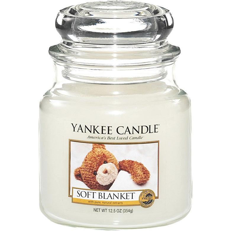 Soft Blanket 411 g Yankee Candle Doftljus