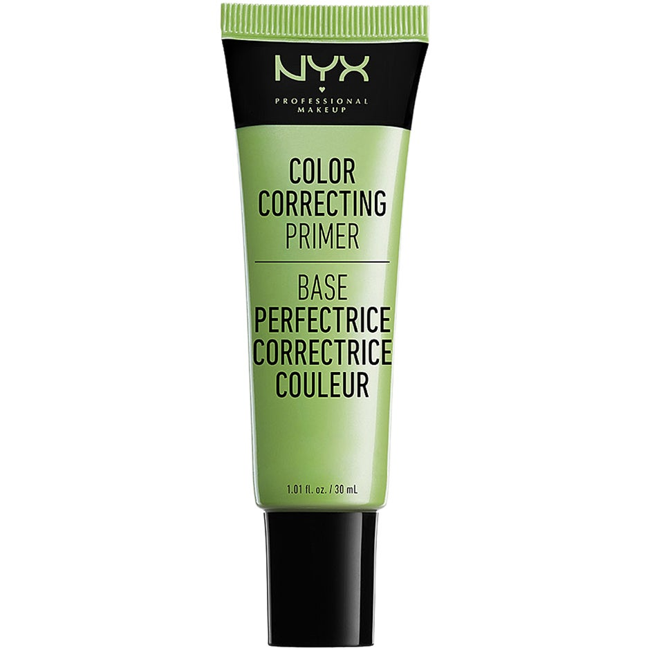 NYX PROFESSIONAL MAKEUP Color Correcting Liquid Primer, Green 30 ml NYX Professional Makeup Primer