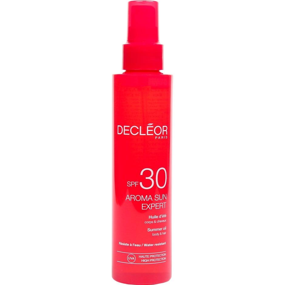 Decléor Aroma Sun Expert Summer Oil Body & Hair SPF 30 150 ml Decléor Solprodukter