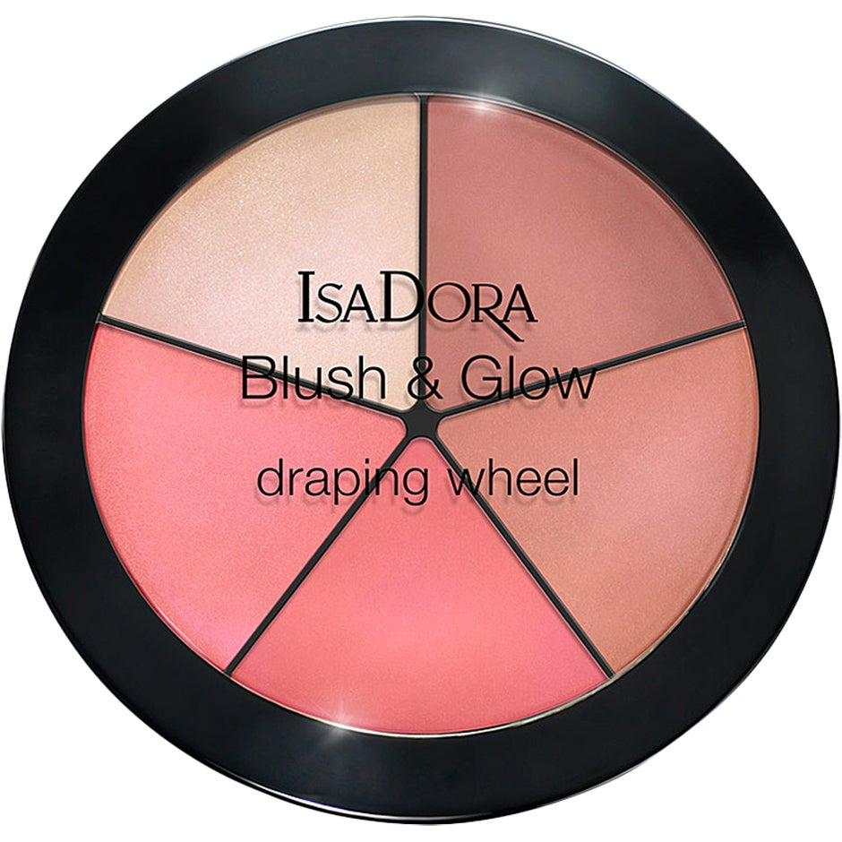 IsaDora Blush & Glow Draping Wheel 18 g IsaDora Rouge