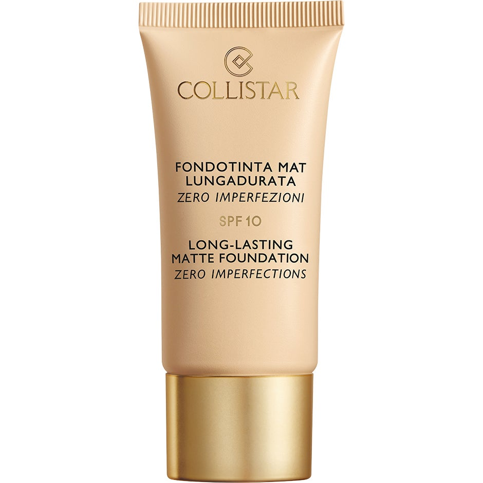 Collistar Long Lasting Matte Foundation, 3 Collistar Foundation