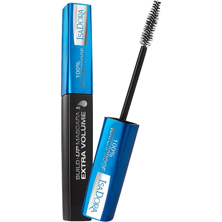 IsaDora Build-Up Extra Volume Mascara Waterproof, 12 ml IsaDora Mascara