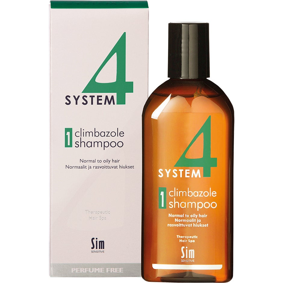 SIM Sensitive System 4 Climbazole Shampoo 1, Climbazole Shampoo 1 Normal to Oily Hair 215 ml SIM Sensitive Schampo