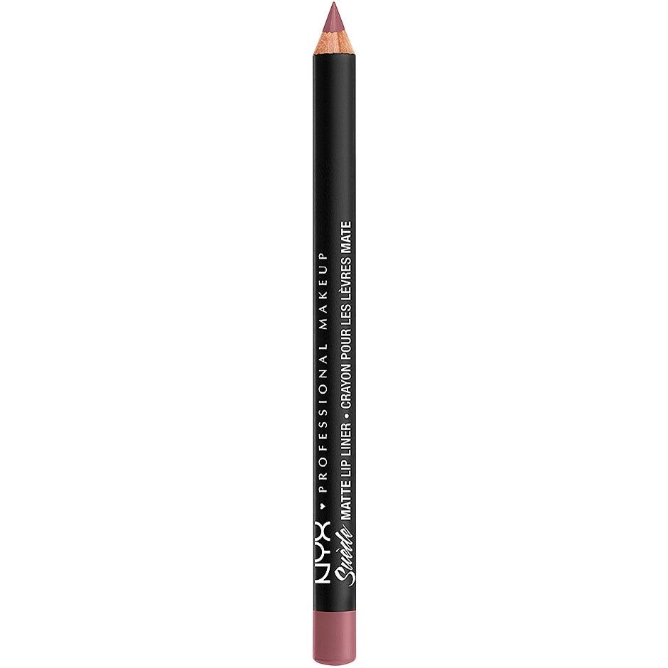 Suede Matte Lip Liner 1 g NYX Professional Makeup Läppenna