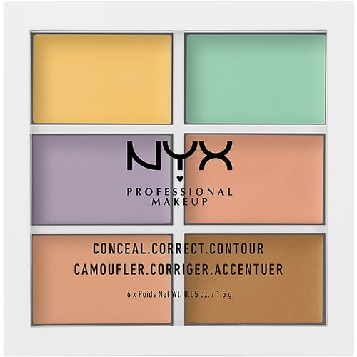 NYX Professional Makeup Color Correcting Concealer Palette