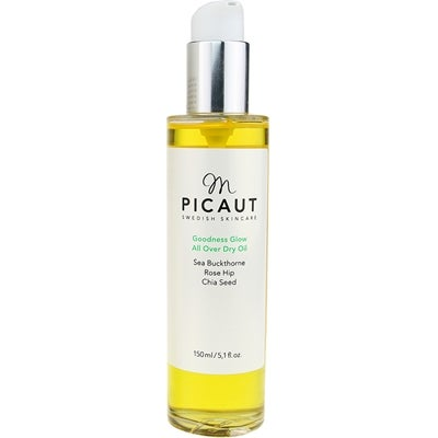 M Picaut Swedish Skincare M Picaut Goodness Glow All Over Dry Oil