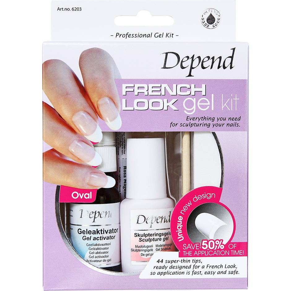 Depend French Look Gelekit Oval – 6203 Depend Depend Nagellack