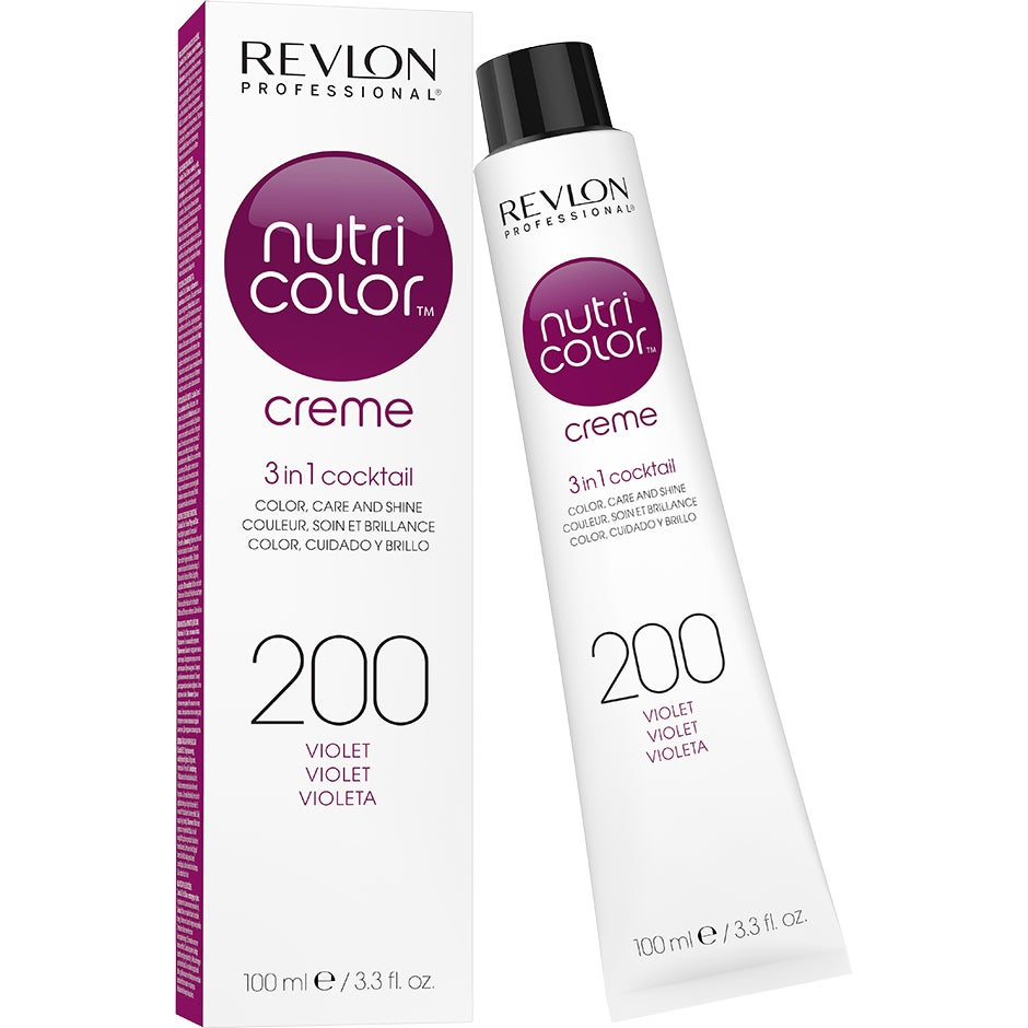 Revlon Professional Nutri Color Creme 200 Burgundy Violet 100 ml Revlon Professional Hårinpackning