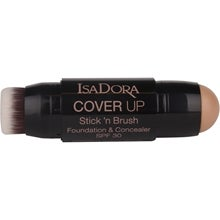 IsaDora Cover Up Stick 'n Brush Foundation & Concealer SPF 30