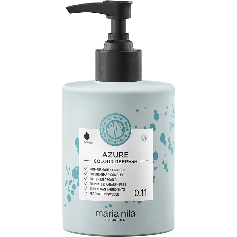 Maria Nila Colour Refresh 0.11 Azure 300 ml Maria Nila Hårinpackning