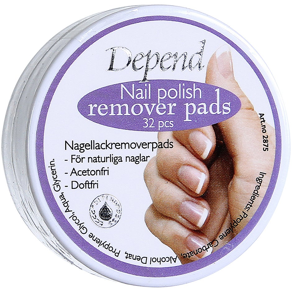 Depend Nail Polish Remover Pads Depend Depend Nagellack